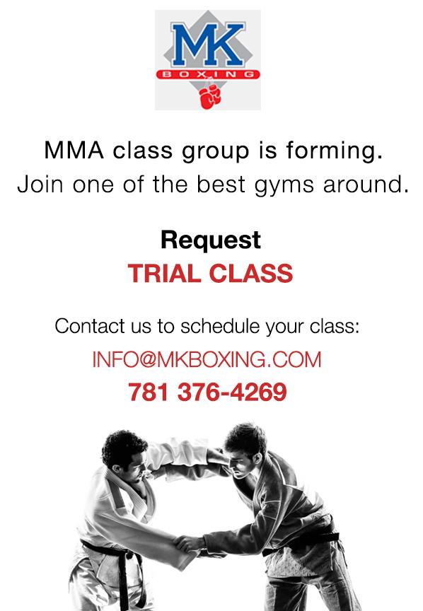 Mixed Martial Arts - MK Boxing Gym